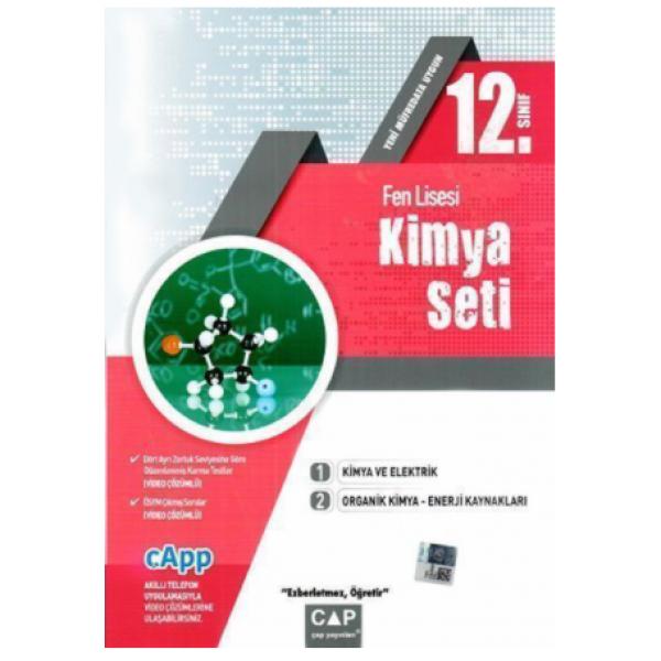 Çap 12. Sınıf Fen Lisesi Kimya Seti