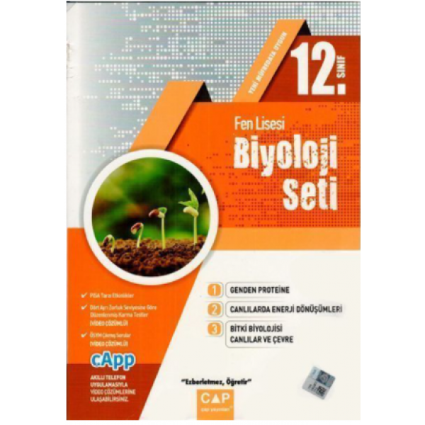 Çap 12. Sınıf Fen Lisesi Biyoloji Seti