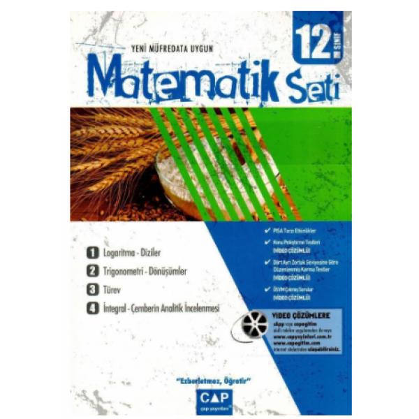Çap 12. Sınıf Matematik Seti Anadolu Lisesi