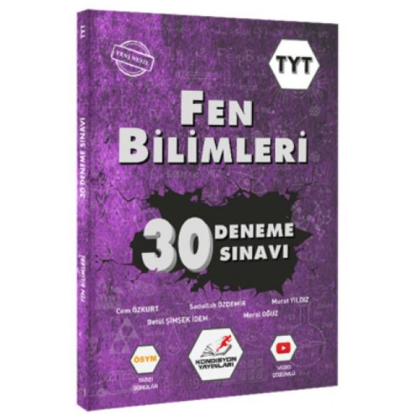 Kondisyon Yayınları TYT Fen Bilimleri 30 Deneme