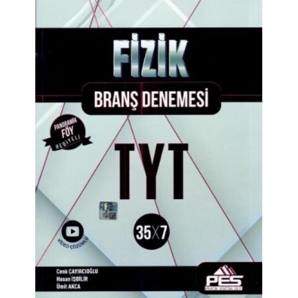 PES Yayınları TYT Fizik 35 x 7 Branş Denemeleri