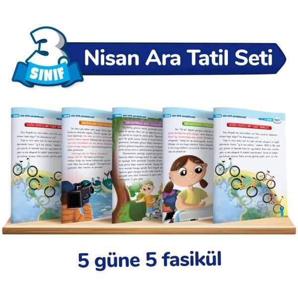 3.Sınıf Nisan Ara Tatil Seti – Öğretmen Evde Yayınları