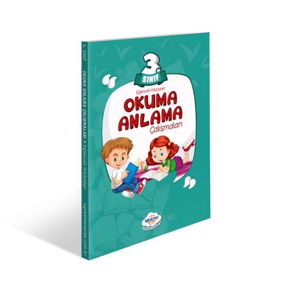 3.Sınıf Okuma Anlama Kitabı | Öğretmen Evde Yayınları