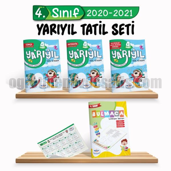 4. Sınıf Yarıyıl Tatil Seti (2020-2021) | Öğretmen Evde Yayınları