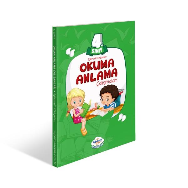 4.Sınıf Okuma Anlama Kitabı | Öğretmen Evde Yayınları