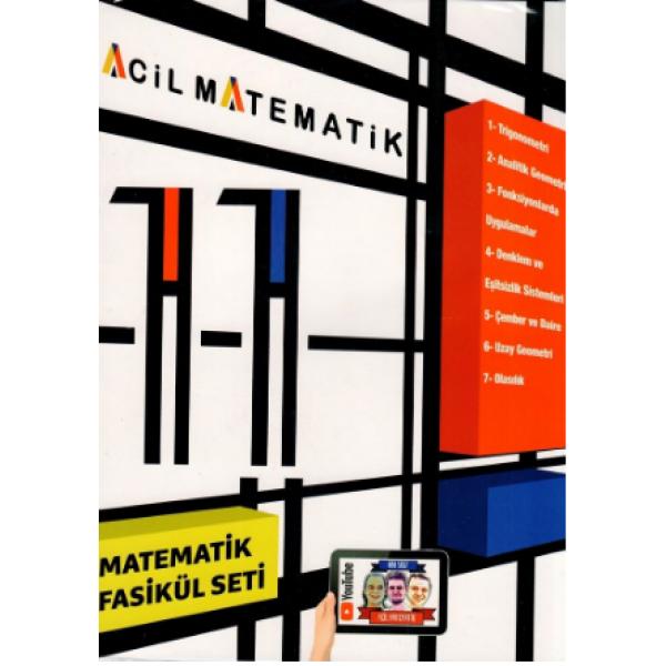Acil Yayınları 11. Sınıf Acil Matematik 6 lı Fasikül Set