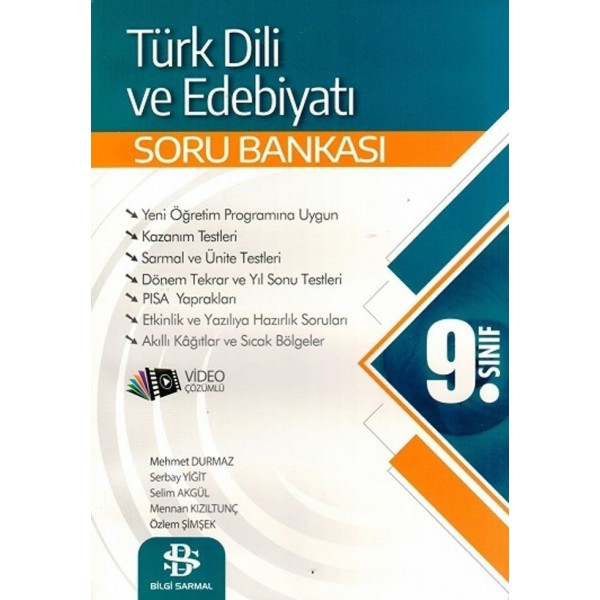 Bilgi Sarmal 9. Sınıf Türk Dili ve Edebiyatı Soru Bankası