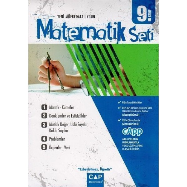 Çap 9. Sınıf Matematik Seti